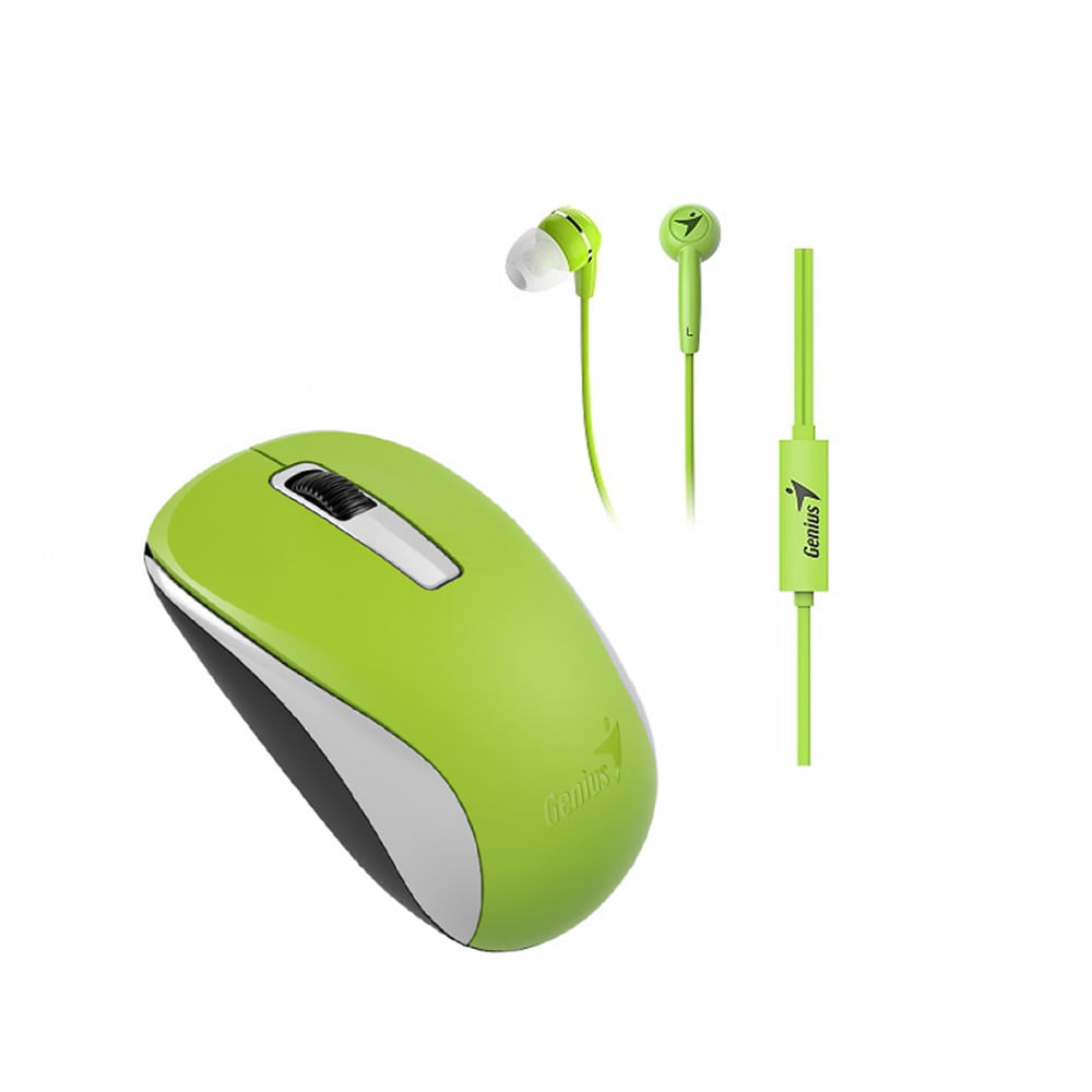 Combo-Genius-mouse---audifono-mh-8100-verde1