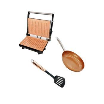 Combo-Home-Elements--Grill-Asador---Sarten-Ceramica---Espatula-Nylon-